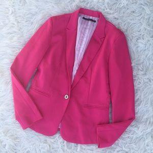 Zara Bright Pink Blazer